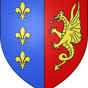 Coat of Arms of Bergerac, France by PZAndrews