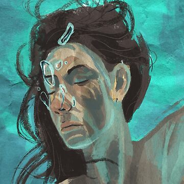 The Swimmer by SketchStudy
