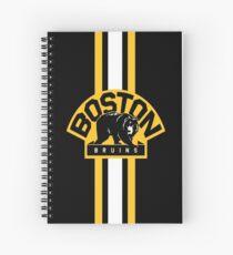 boston bruins Spiral Notebook