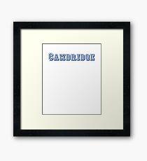 Cambridge Framed Print