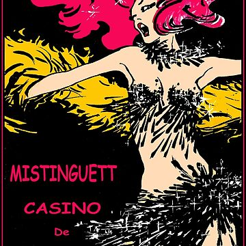 CASINO DE PARIS : Vintage Mistinguett Cabaret Advertising Print by posterbobs