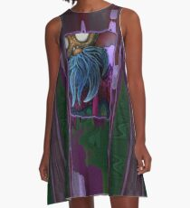 Black Eyed Susan A-Line Dress