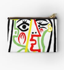 Pablo Picasso, Jacqueline with Straw Hat 1962, Artwork for Posters Prints Tshirts Women Men Kids Zipper Pouch