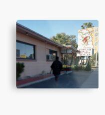 Sandman Motel Metal Print
