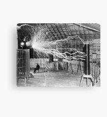 Nikola Tesla History  Canvas Print
