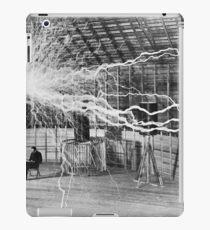 Nikola Tesla History  iPad Case/Skin