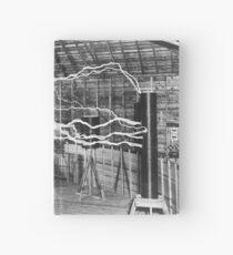 Nikola Tesla History  Hardcover Journal