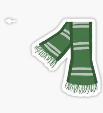 house scarf Sticker