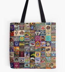 Grateful Dead Album Covers Tote Bag