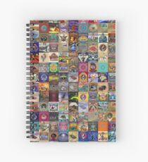 Grateful Dead Album Covers Spiral Notebook