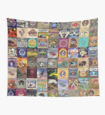 Grateful Dead Album Covers Wall Tapestry
