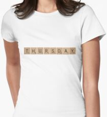 Wood Scrabble Thursday! T-Shirt