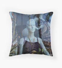 Foxy Lady Throw Pillow