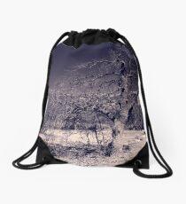 Curved Road Drawstring Bag