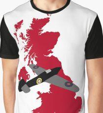 British Fighter Graphic T-Shirt
