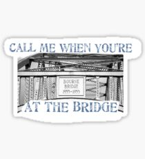 Cape Cod Bridge Sticker