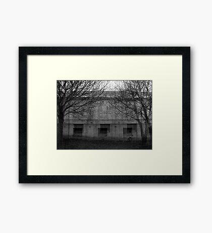 Walk Through Time Framed Print
