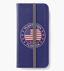 Plantation, Florida iPhone Wallet/Case/Skin