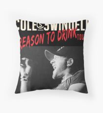 erno Swindell Reason Cole to Drink Tour 2018 Throw Pillow