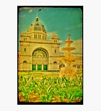 Royal Exhibition Building III Photographic Print