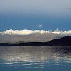 Lake Manapouri - New Zealand by Kathie Nichols