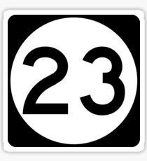 Route 23 Sticker