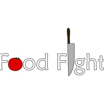 Food Fight. by someartworker