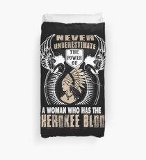 Cherokee Blood Duvet Cover