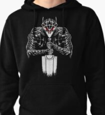 Black Swordsman Pullover Hoodie