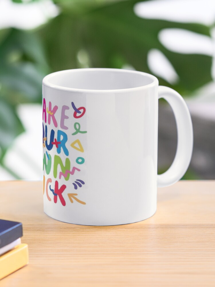 best entrepreneur quotes make your own luck mug by pinkycherry