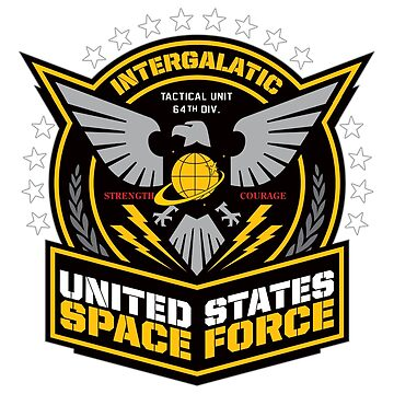 Space Force Military Branch Donald Trump Space Force  by lepus74