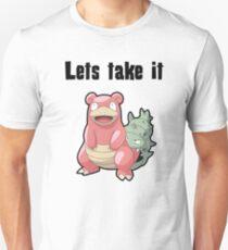 Let's take it SLOWBRO T-Shirt