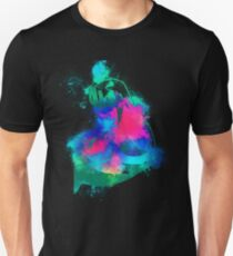 Strong arm colorful Unisex T-Shirt