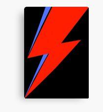 Bowie Ziggy  Canvas Print