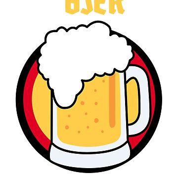 Oktoberfest - Funny OktoBEERfest beer drinking design by harajukumoments