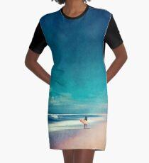 Summer Days - Going Surfing Graphic T-Shirt Dress
