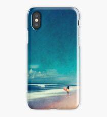 Summer Days - Going Surfing iPhone Case