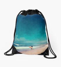 Summer Days - Going Surfing Drawstring Bag