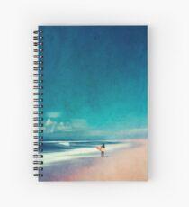 Journées d'été - Surfer Cahier à spirale