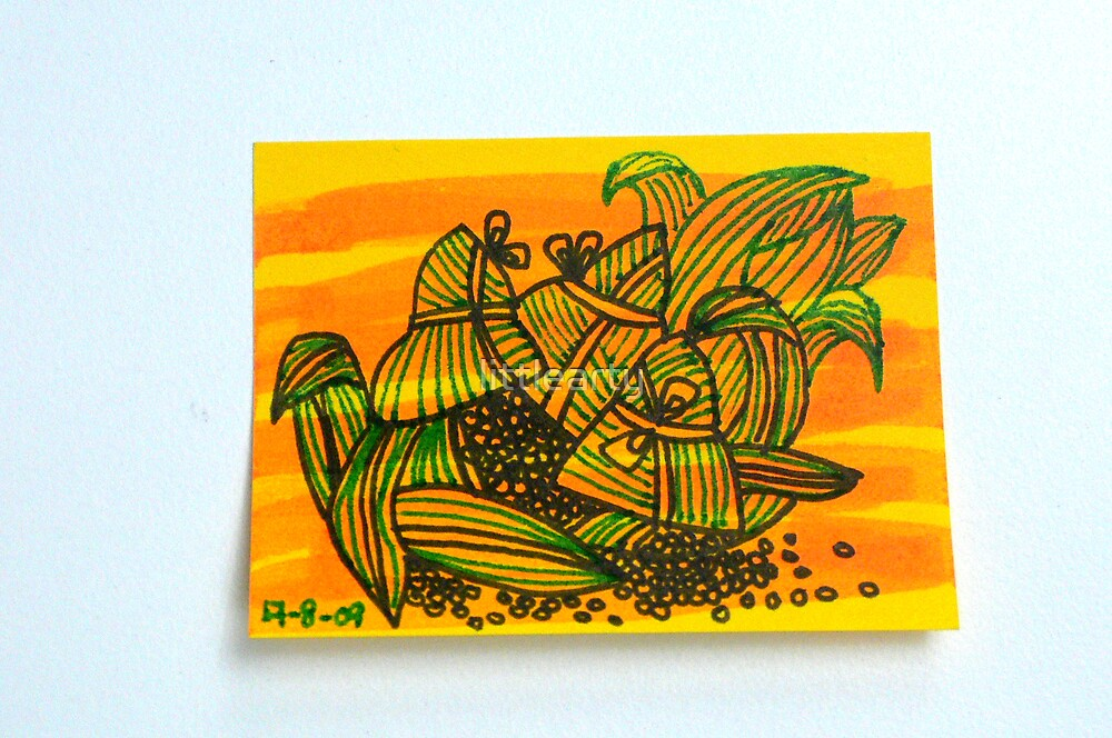 Tiny Diary: Bak Chang by littlearty