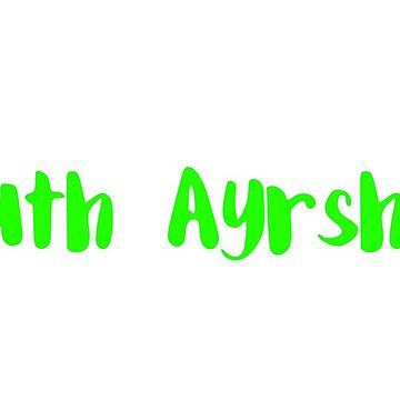 South Ayrshire - neon green  by FTML