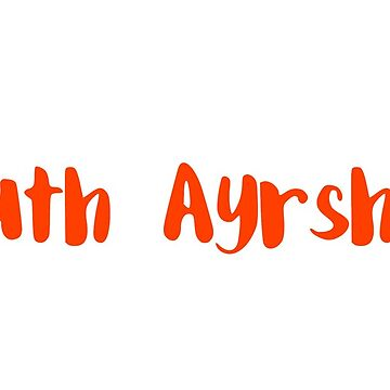 South Ayrshire - red by FTML