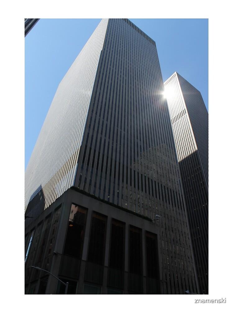 New York, #New, #York, #NewYork, New York City, #NewYorkCity, #Manhattan, #Skyscraper  by znamenski