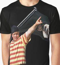 The Sandlot Ham Porter Giants Shirt Graphic T-Shirt