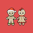 Gingerbread man and woman by lelulagames