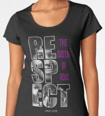 Aretha Respect Tribute Women's Premium T-Shirt