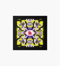 Purple Mandala Collection No 9 Art Board