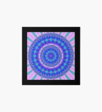 Purple Mandala Collection No 10 Art Board