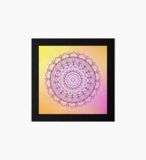 Purple Mandala Collection No 11 Art Board