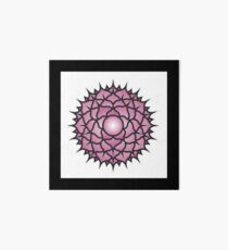 Purple Mandala Collection No 14 Art Board
